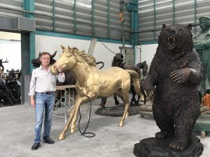 new Running Horse and bear
