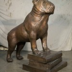 Butler High School Bulldog mascot