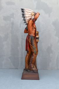 General Cigar Promotion 6ft Cigar Store Indian Completed 3