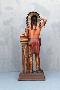 General Cigar Promotion 6ft Cigar Store Indian Completed 4